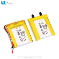 high capacity battery Rechargeable li-polymer battery 402025 150mAh 3.7V small rechargeable battery