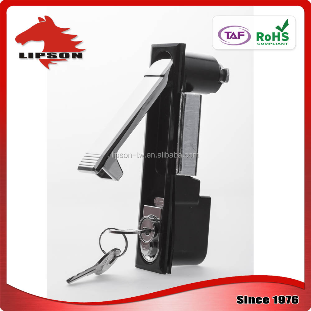 LM-818-2 Coin Lockers Moter Systems chrome key plane lock
