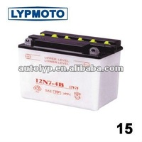12N7-4B Motorcycle Battery