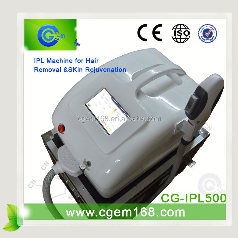 CG-IPL500 New design Portable ipl personal home skin rejuvenation machine for strech mark removal