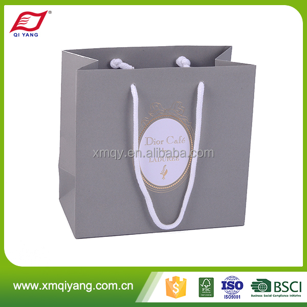 Creative personalized laminated machine making paper carrier bag with customer logo