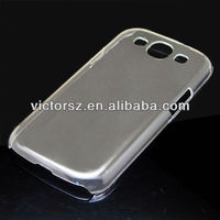 for samsung galaxy s3 i9300 transparent clear hard pc cover case