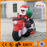Amazing Lovely Most Popular Top Selling Inflatable Huge Santa Claus
