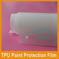 High Quality Car Exterior TPU Material Self-Adhesive Clear Car Paint Protection Film wholesale car body sticker vinyl film