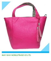 colorful tote bags, pu handbag