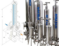 Stainless steel cartridge filter system