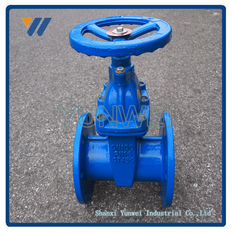 Ductile Iron Cast Iron Swing Wcb Gate Valve