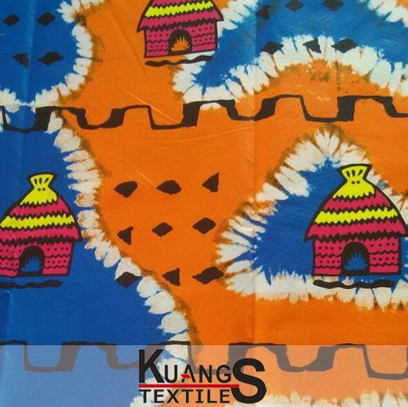 wholesale spandex african wax printed cotton fabric