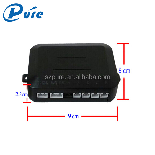 Car Parking Sensor with LCD Display Electromagnetic Parking Sensor Reverse Parking Sensor Kit with Buzzer Alarm