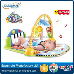 new products Baby foot piano early childhood fitness frame game blanket