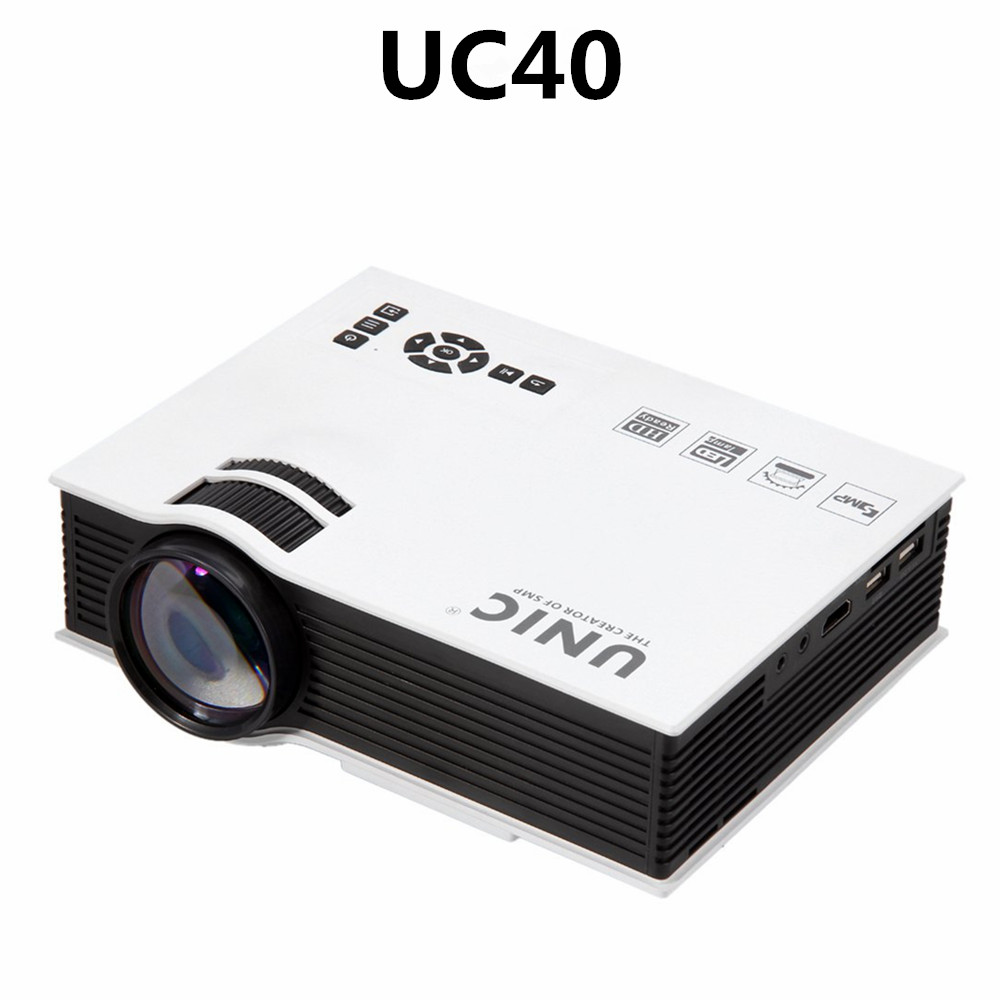 Competitive price Projector UC40 with USB BoxKing projector Led Projector