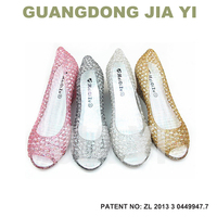 lady footwear, women high heel shoes, pvc shoes