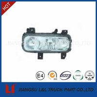 Classical truck head lamp for mercedes benz cab actros axor atego