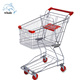 Metal Supermarket Shopping Carts / Trolley Grocery For Sell