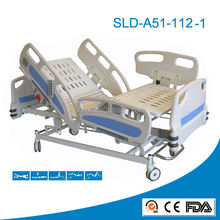 Addtional CPR Function Multi-functional ICU Electrical Hospital Bed