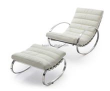 rocking chairs living room rolling chair designer furniture lazy chair YH-117