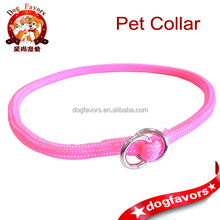 5/16 Inch x 20 Inch Round Braided Choke Nylon Dog Collar for pet baby product