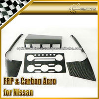For Nissan R35 GTR OEM Style Carbon Fiber Radio Surround Left Hand Drive