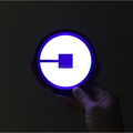 4 inches, 3AAA battery power, wireless LED car sticker with light sensor and motion sensor