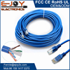 Blue Twisted Pair Cat 5e RJ45