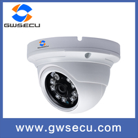 Shenzhen gwsecu IP66 poe WDR fixed ir dome camera P2P 3 megapixel ip camera onvif 2.4 working with Hikvision dahua nvr