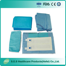 Single use EO Sterile Reinforced Nonwoven Surgical Extremity Pack/Kits