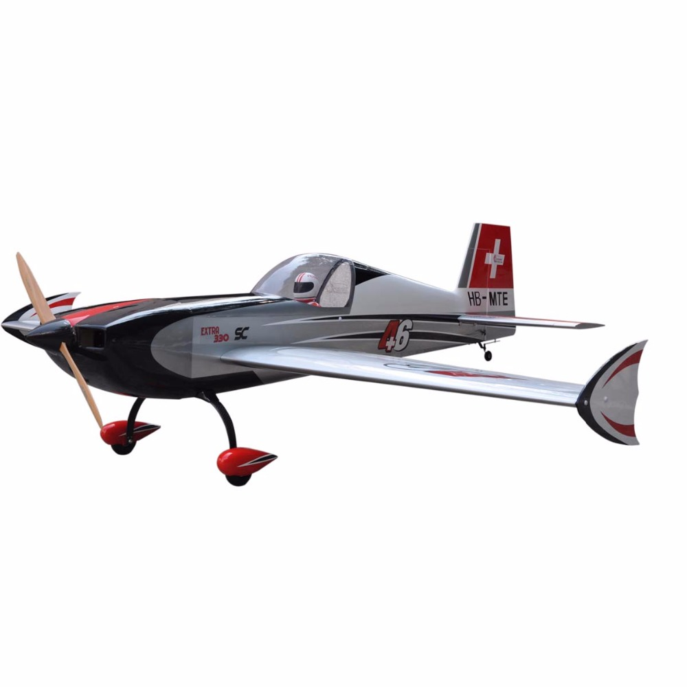 "wooden toy EXTRA 330SC 93"" V3 60cc radio controlled model aeroplanes"