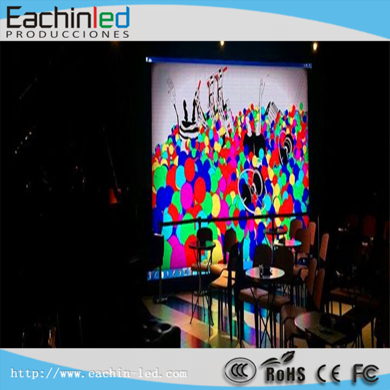 Night club sound system P6.944 nightclub decoration LED video wall seamless