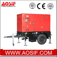 Xiamen AOSIF 15kw generators, portable generators with lister engine