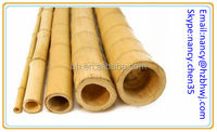 "2"" Durable Natural Bamboo Wood Drapery Pole Rod"