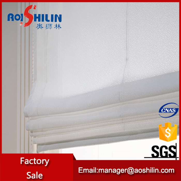 hot selling high level new design delicated appearance linen roman shades