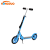 Foldable outdoor sports adult or kick 200mm PU 2 wheel scooter