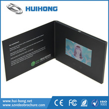New arrival Hand Made TV a card Video greeting card and TFT Lcd screen Video in Print - TV in a Card