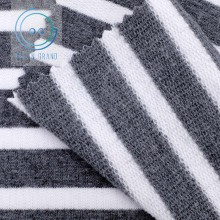 Taiwan Yarn Dyed Striped Baby French Terry Knit Fabric for Hoodie Sweatshirt