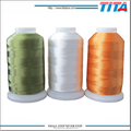 Nice machine polyester embroidery thread with low price and bright color