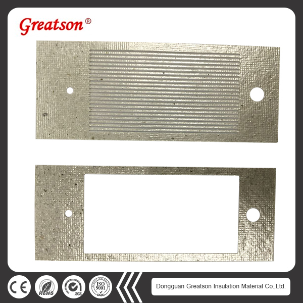 OEM UL-94V-0 die cut heat resistance mica sheet prices