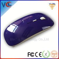 custom gift mouse! laptop flat mouse wireless with full color