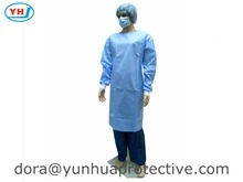 disposable PP SMS hospital clothing patient surgical gown
