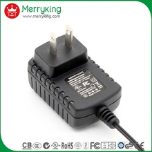 Merryking electronics ul 2amp 1.5a 1amp 500ma 12 volt adapter for heater/cctv/led lighting/ip camera