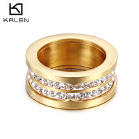 Hot selling jewelry gold casting ring diamond setting engagement wedding party ring designs for girls women