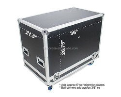 ATA Road Case Speaker Case for 2 Presonus StudioLive 312 Speakers