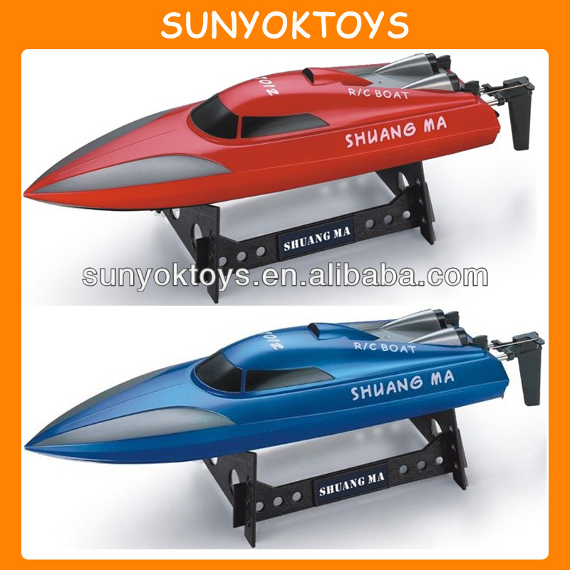 New Arriving! 46CM 2.4G 4CH EP RC Racing Boat with servo, rc fishing boats for sale