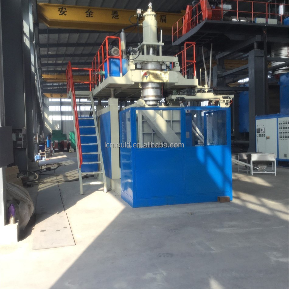 5000L 3layers plastic water tank blow molding machine