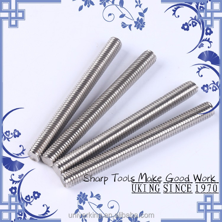 Factory stainless steel 304 <strong>M10</strong> <strong>Threaded</strong> <strong>rod</strong> DIN975
