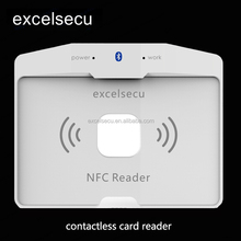 ESECU New Bank System RFID Credit Writer Smart Chip Magnetic Card Reader