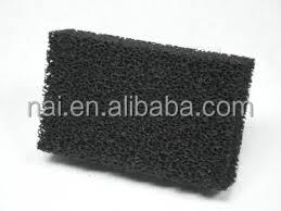 Non-woven activated carbon