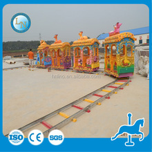 Backyard playground fun children model electric track train