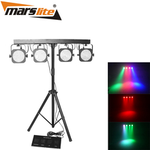 2017 Marslite guangzhou factory 4 set 144pcs 10mm LED led par stage lighting for concert party night club with high quality