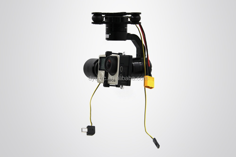 dys aerial gimbal marcia play amp plug option with motor