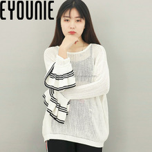 Hot Selling Oversize Flare Sleeve Spring Cashmere Sweater